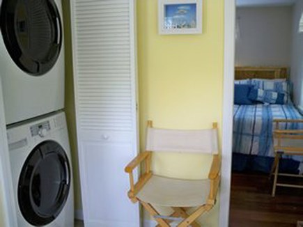 South Yarmouth Cape Cod vacation rental - Full Size Washer / Dryer - Located in Sun Room