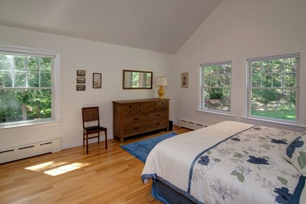 West Falmouth Cape Cod vacation rental - Another view of bedroom with King bed