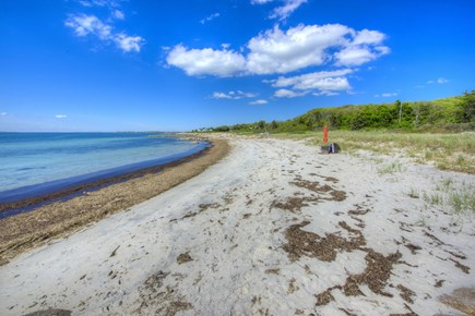 West Falmouth Cape Cod vacation rental - Private Association Beach just a few homes away from House.
