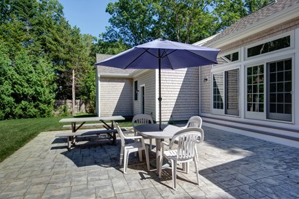 West Falmouth Cape Cod vacation rental - Relax and enjoy dinner on the patio