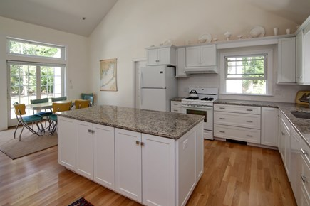 West Falmouth Cape Cod vacation rental - Open Kitchen/Dining room with granite countertops