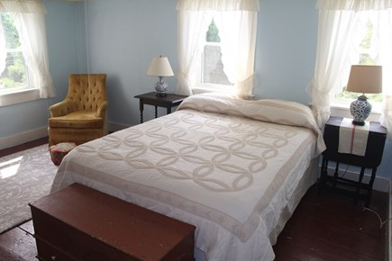 North Truro Cape Cod vacation rental - The master bedroom (2nd floor) gets an amazing breeze