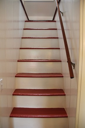 North Truro Cape Cod vacation rental - Stairs to the second floor