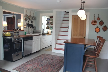 North Truro Cape Cod vacation rental - The kitchen is fully equipped to facilitate easy cooking