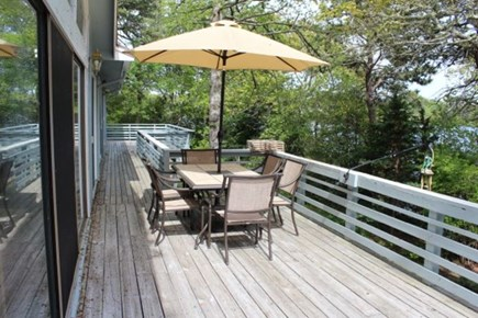 Dennis Cape Cod vacation rental - Overlooking Scargo lake-seats six.