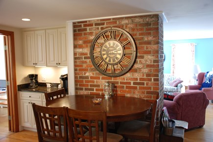Dennis Village Cape Cod vacation rental - Kitchen table and coffee nook