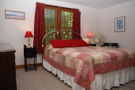 Dennis Village Cape Cod vacation rental - First floor master queen bedroom with en suite bathroom