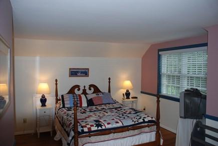 Dennis Village Cape Cod vacation rental - Second floor master queen bedroom with en suite bathroom