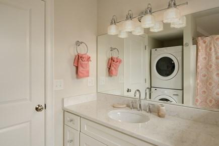 Dennis, Mayflower Beach Cape Cod vacation rental - Second floor bathroom with shower/tub & washer/dryer