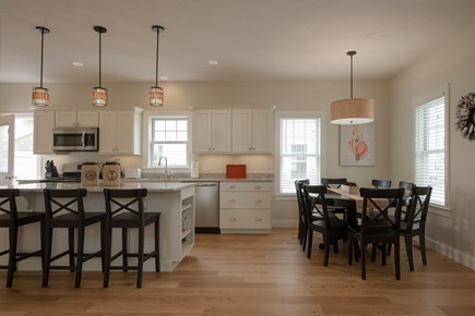Dennis, Mayflower Beach Cape Cod vacation rental - Spacious kitchen & dining area open to the den