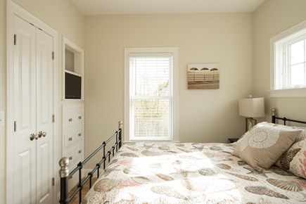 Dennis, Mayflower Beach Cape Cod vacation rental - Master bedroom on first floor with private bathroom