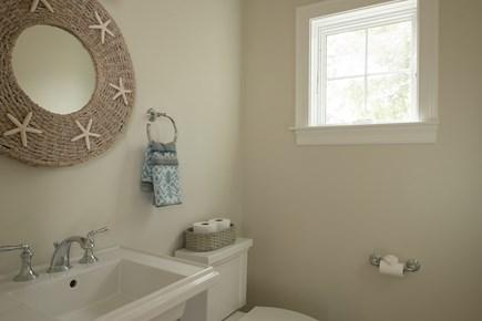 Dennis, Mayflower Beach Cape Cod vacation rental - First floor half bath- off kitchen