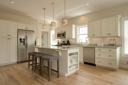 Dennis, Mayflower Beach Cape Cod vacation rental - Large bright kitchen