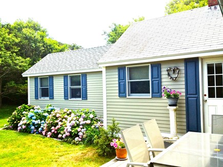 Orleans, Nauset Heights near Nauset bea Cape Cod vacation rental - Remodeled cottage attached to main house, plus deck