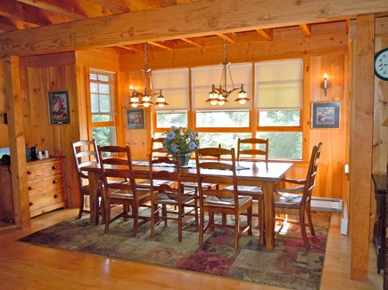Orleans, Nauset Heights near Nauset bea Cape Cod vacation rental - Comfortable dining table for 8-10
