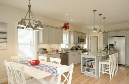 Dennis, Mayflower Beach Cape Cod vacation rental - Spacious kitchen-open to the den