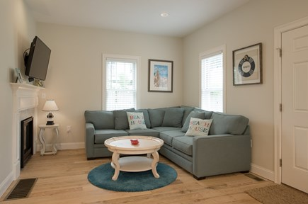 Dennis, Mayflower Beach Cape Cod vacation rental - First floor den-open to kitchen
