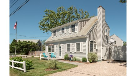 Dennis, Mayflower Beach Cape Cod vacation rental - Front View of House-parking for 4 cars
