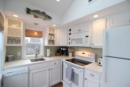 Dennisport Cape Cod vacation rental - Updated kitchen w/ new dishwasher, quartz countertops & sink 2018