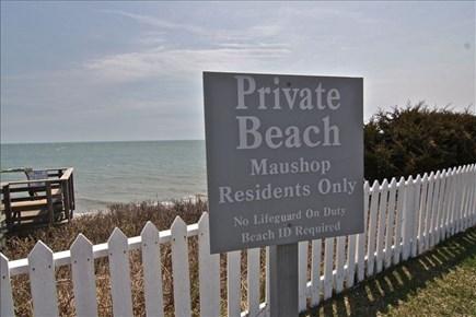 Maushop Village, New Seabury New Seabury vacation rental - Stairs to beach