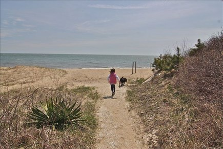 Maushop Village, New Seabury New Seabury vacation rental - Path to beach