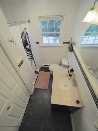 West Yarmouth Cape Cod vacation rental - Downstairs bathroom with washer/dryer