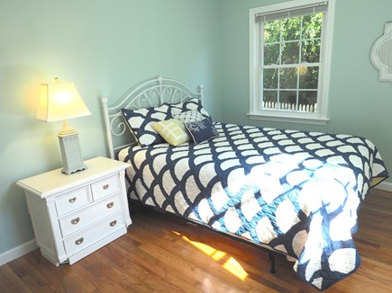West Yarmouth Cape Cod vacation rental - First floor bedroom with queen-sized bed