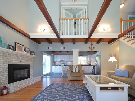 West Yarmouth Cape Cod vacation rental - Open-concept living room and kitchen