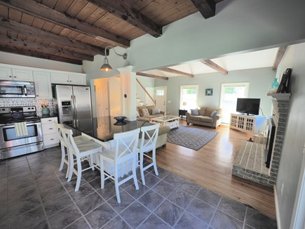 West Yarmouth Cape Cod vacation rental - Center island comfortably seats 7