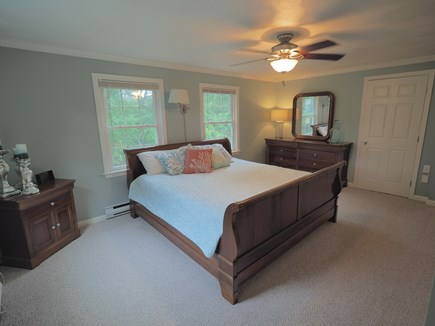 West Yarmouth Cape Cod vacation rental - Master bedroom with King-sized bed
