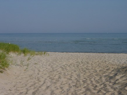 Dennis, Mid Cape Area Cape Cod vacation rental - Welcome to the private beach just 50 yards away!