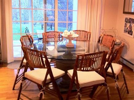 Brewster Cape Cod vacation rental - Dining room seats 7
