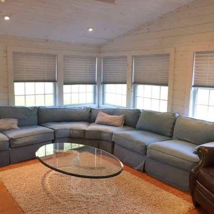 Brewster Cape Cod vacation rental - Master bedroom large sitting room