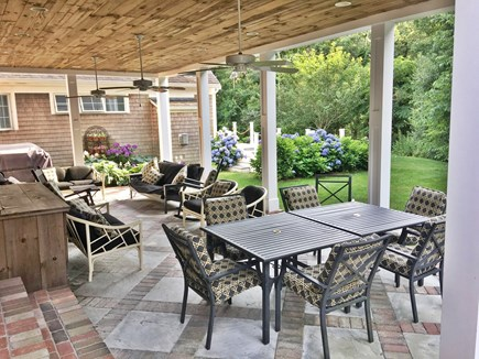 Brewster Cape Cod vacation rental - Patio relaxing at its best!