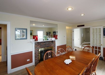 Dennisport Cape Cod vacation rental - Large dining room with plenty of room for the whole family