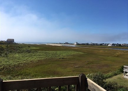 Dennisport Cape Cod vacation rental - Sit back on the deck and enjoy the serene views