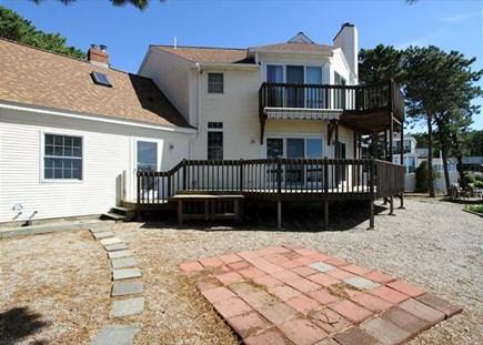 Dennisport Cape Cod vacation rental - Beautiful deck and balcony areas