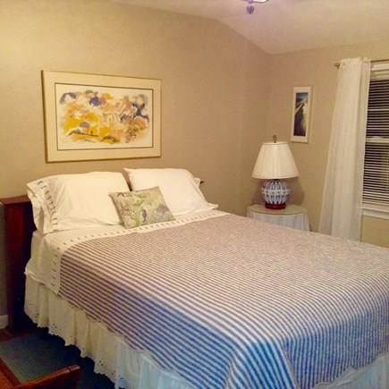 Hyannis Cape Cod vacation rental - Queen bed on top floor with attached bathroom