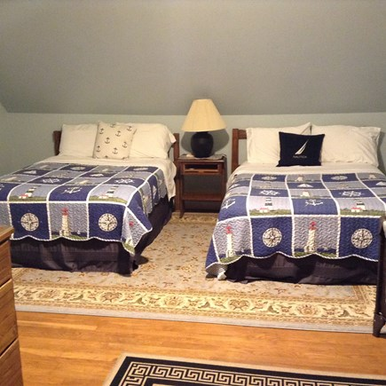 Hyannis Cape Cod vacation rental - Top floor bedroom with 2 full size beds
