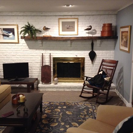 Hyannis Cape Cod vacation rental - Lower level familyroom