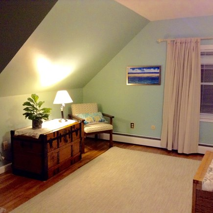 Hyannis Cape Cod vacation rental - King size bedroom with bathroom