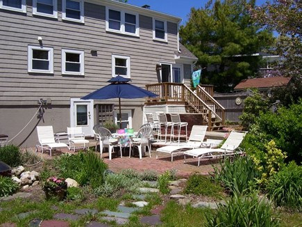 Hyannis Cape Cod vacation rental - Relax and enjoy the spacious large patio & declk