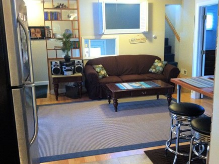 Plymouth MA vacation rental - Read a book or listen to the stereo in the Living Room
