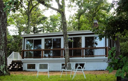Plymouth MA vacation rental - Lake Side View of House