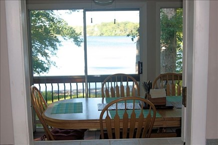 Plymouth MA vacation rental - View of Lake from Kitchen