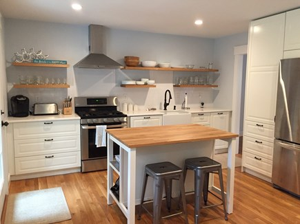 Falmouth Cape Cod vacation rental - Renovated and fully-appointed kitchen