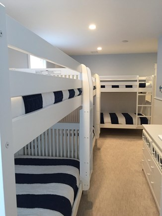 Falmouth Cape Cod vacation rental - Bunk room on lower level