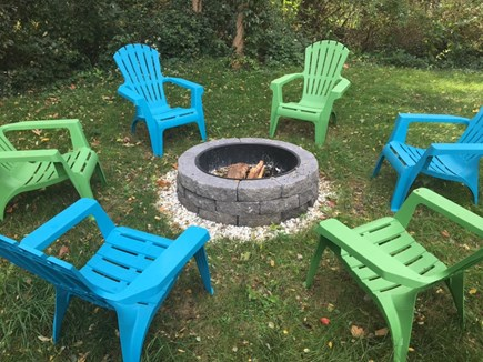 Falmouth Cape Cod vacation rental - Fire pit