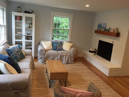 Falmouth Cape Cod vacation rental - Sunny and comfortable living room