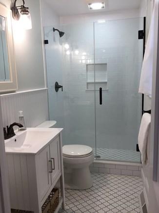 Falmouth Cape Cod vacation rental - Master bathroom